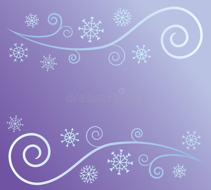 abstrakt snowwind stock illustrationer