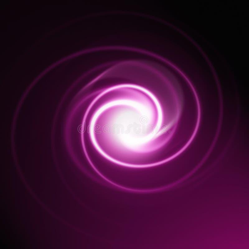 abstrakt spiral vektor illustrationer