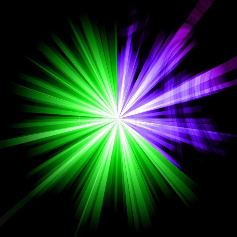 abstrakt starburst royaltyfria foton