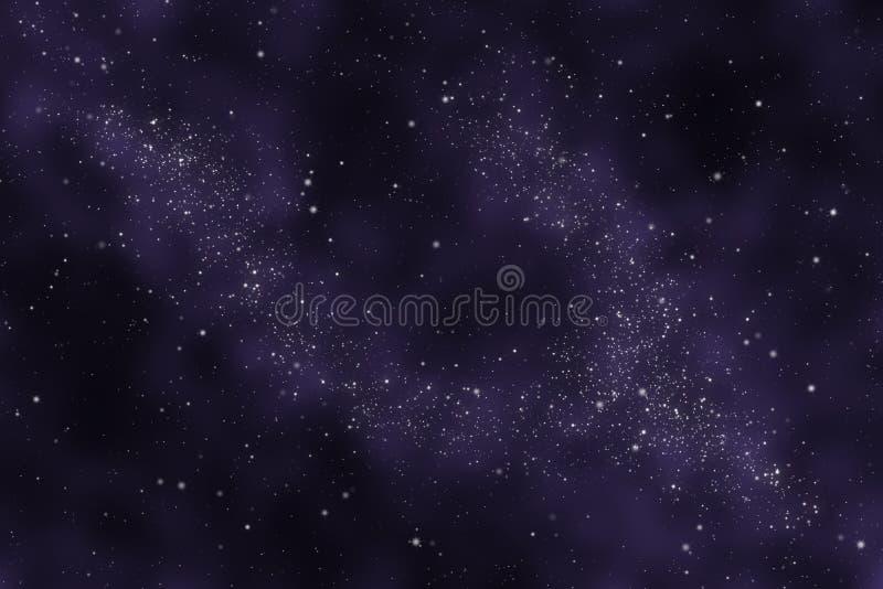 abstrakt starfielduniversum royaltyfri illustrationer