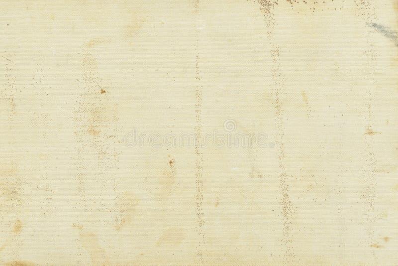 Abstrakt starzejący się grunge tekstury tło z brud plamami, punkty, włączenie błonnik, beżowy kolor, grunge rocznik fotografia stock