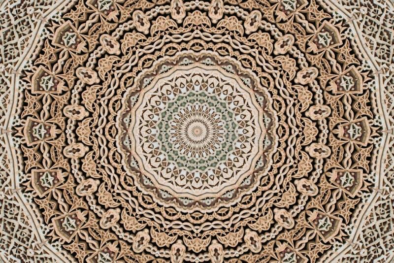 abstrakt sten för fretwork 4 royaltyfri bild