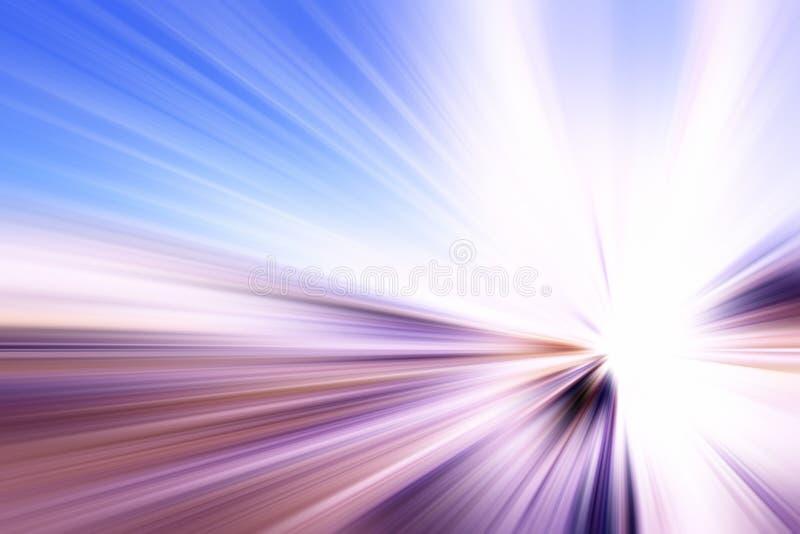 Abstrakt strålar royaltyfri bild