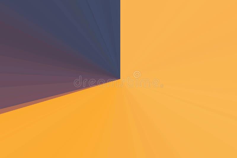 Abstrakt strålbakgrund för solsken Färgrik bandstrålmodell Moderna trendfärger för stilfull illustration fotografering för bildbyråer