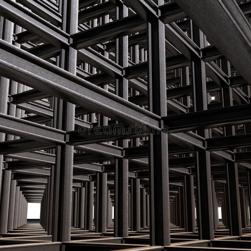 abstrakt strukturellt royaltyfri fotografi