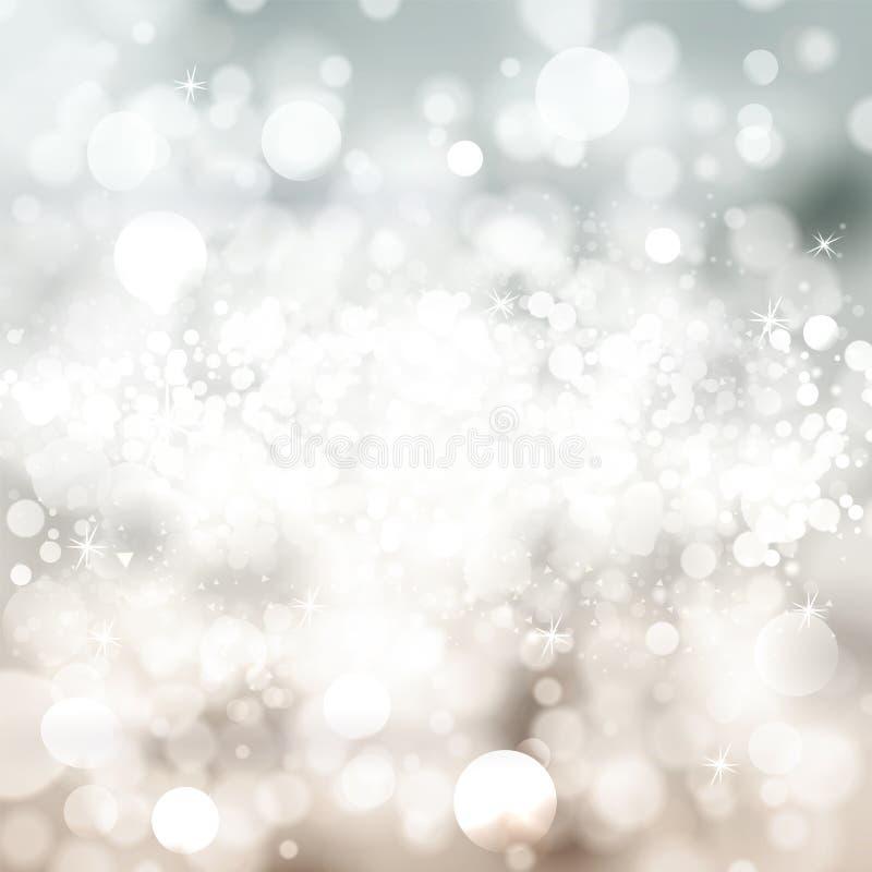 Abstrakt suddig bakgrund med bokeh Ljus bakgrund w för vektor vektor illustrationer