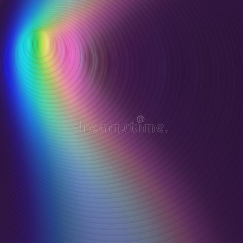 Abstrakt suddig neonf?rgbakgrund blurriness stock illustrationer