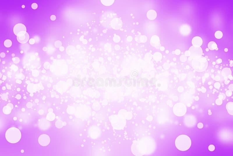 Abstrakt suddighetsbokeh för lilor royaltyfria foton