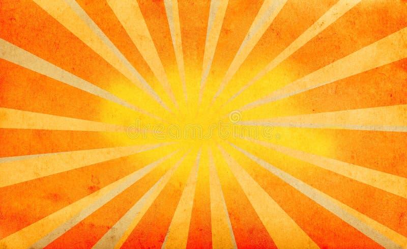 abstrakt sun för sommar för bakgrundsstrålfjäder arkivfoton