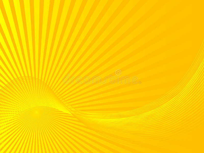 abstrakt sunbeams stock illustrationer