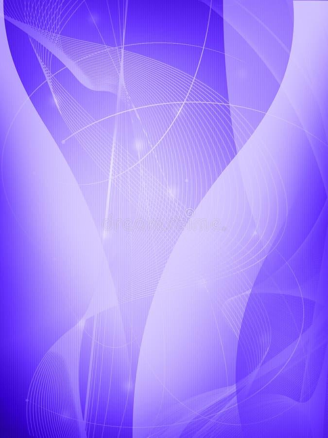 abstrakt svalna waves stock illustrationer