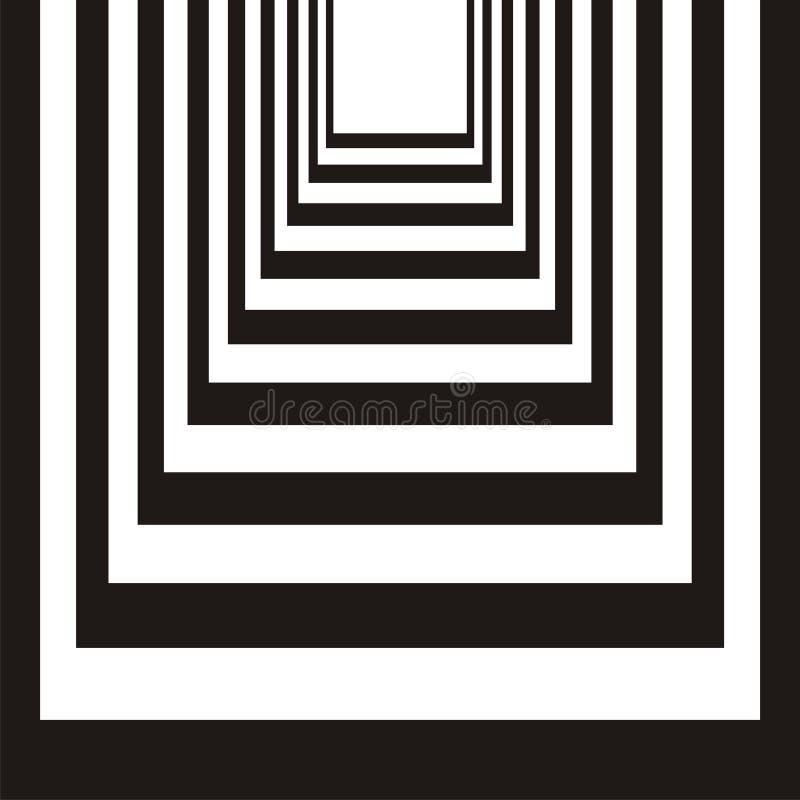 abstrakt svart designwhite stock illustrationer
