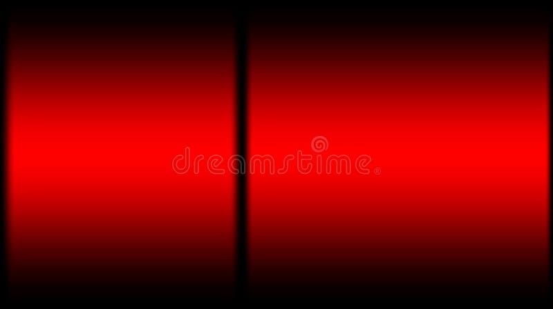 Abstrakt svart med bakgrund för blandning för röd färg suddig royaltyfri illustrationer