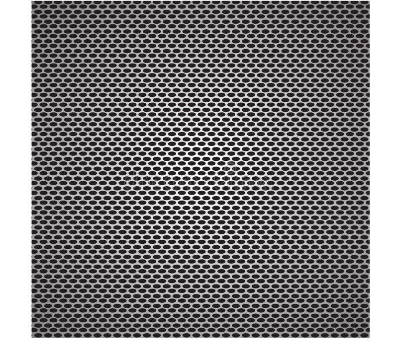Abstrakt svart netto bakgrund vektor illustrationer