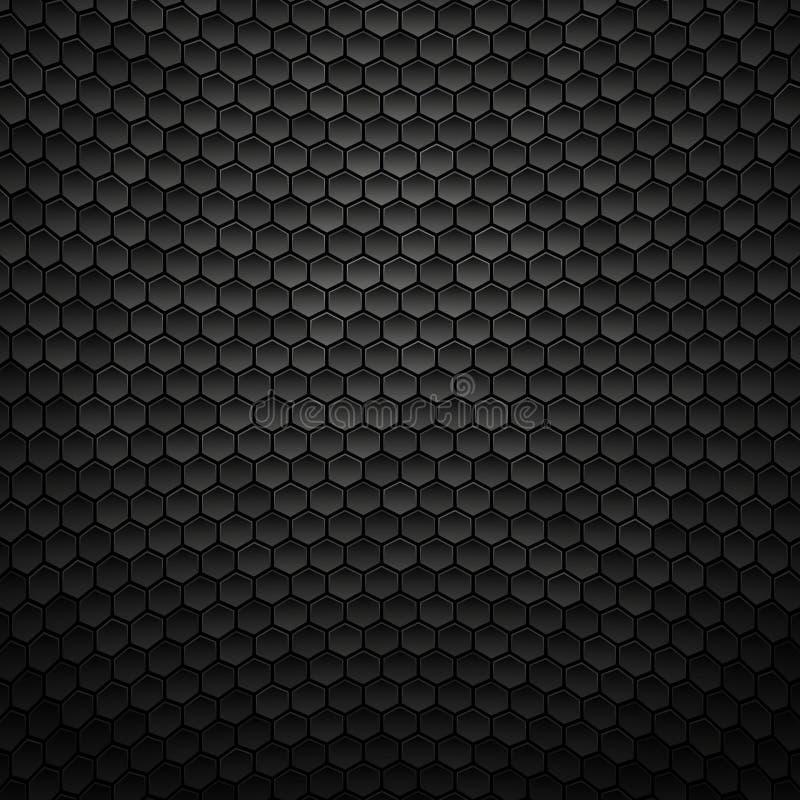 Abstrakt svart texturbakgrund, metallisk mörk design stock illustrationer