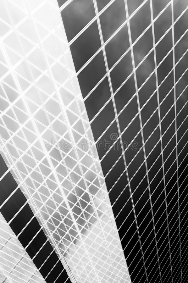 abstrakt svart white stock illustrationer