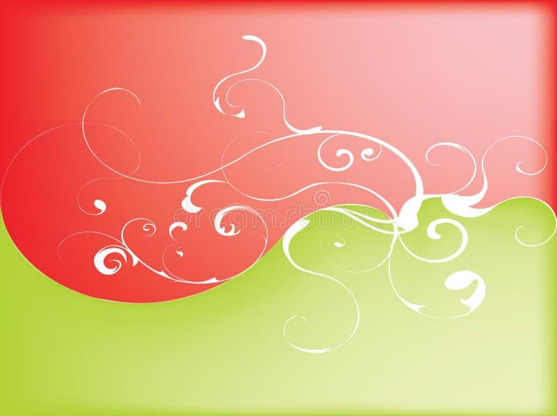 abstrakt swirl vektor illustrationer