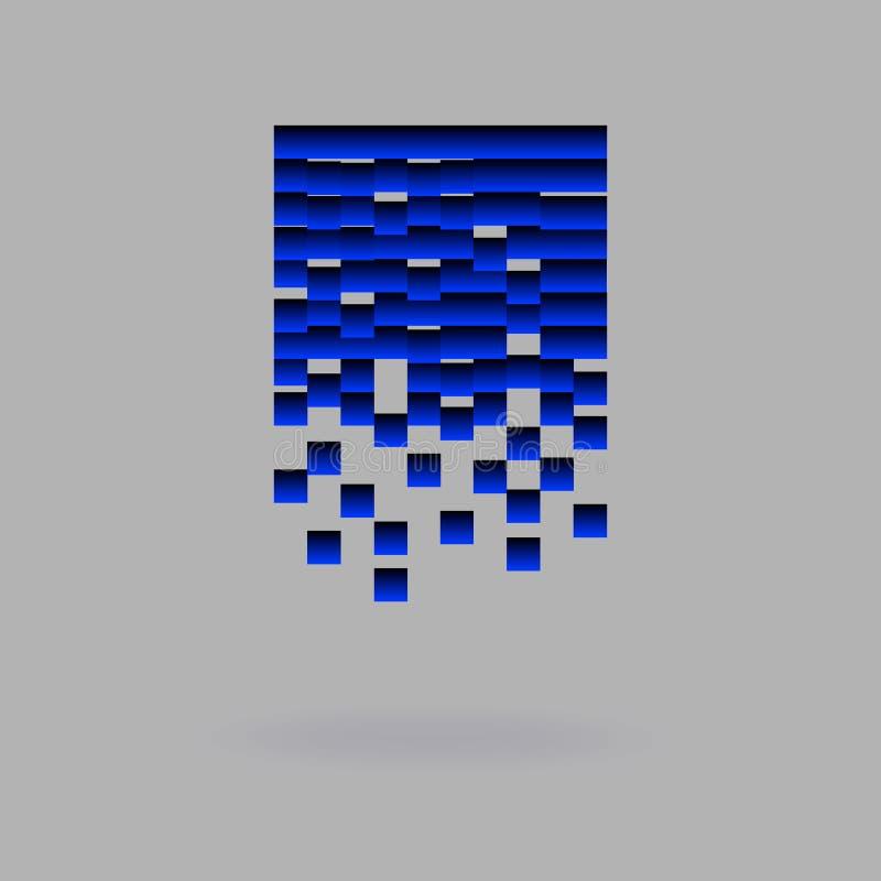 Abstrakt symbol för ditt företag royaltyfri illustrationer