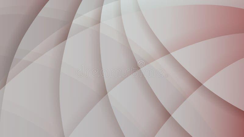 Abstrakt szarość i czerwieni technologii blady tło ilustracji