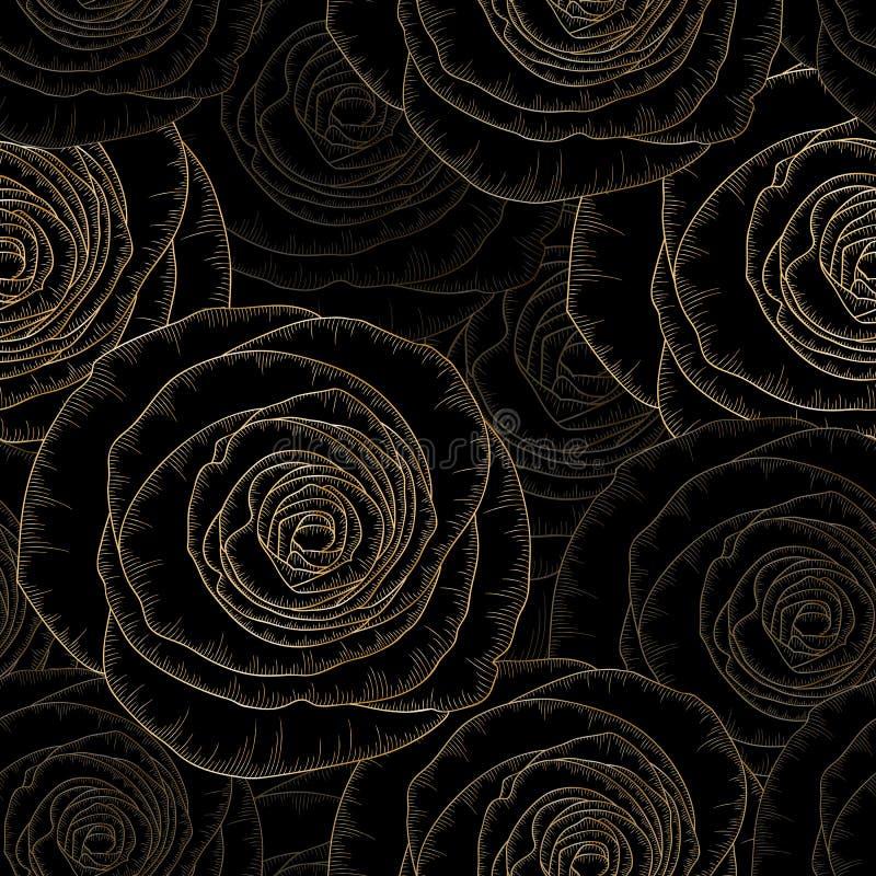Abstrakt, sztuka, tło, tło, piękny, kwitnie, kwitnie, grępluje, kreatywnie, fryzuje, wygina się, dalia, wystrój, projekt, rysunek royalty ilustracja