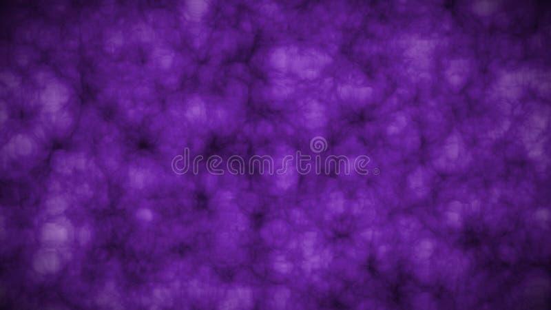 Abstrakt sztuki animacji 2D kawałki odcienie purpury royalty ilustracja