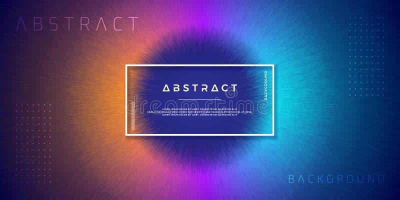 Abstrakt, tła dla twój projektów elementów i inny, dynamiczni, nowożytni, z pomarańcze, purpurami i bławym gradientowym kolorem, royalty ilustracja