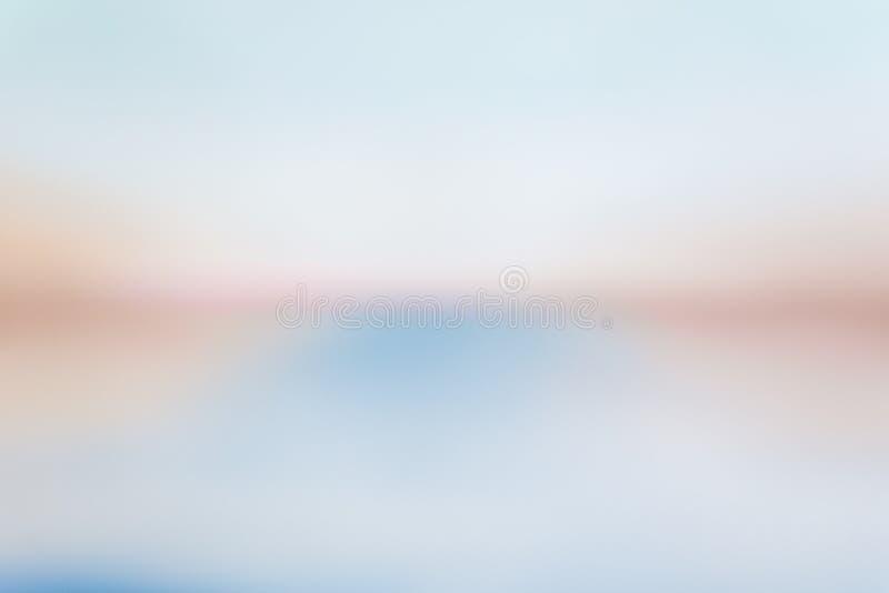 Abstrakt teckning av blå, röd och vit målarfärg arkivfoton