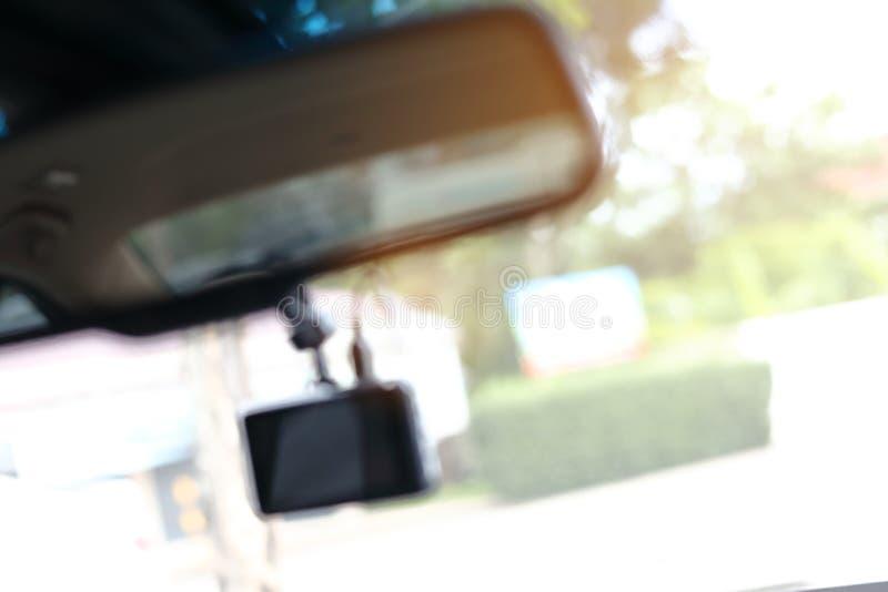 Abstrakt teknologi för suddighetsvideokamerarekord royaltyfria bilder