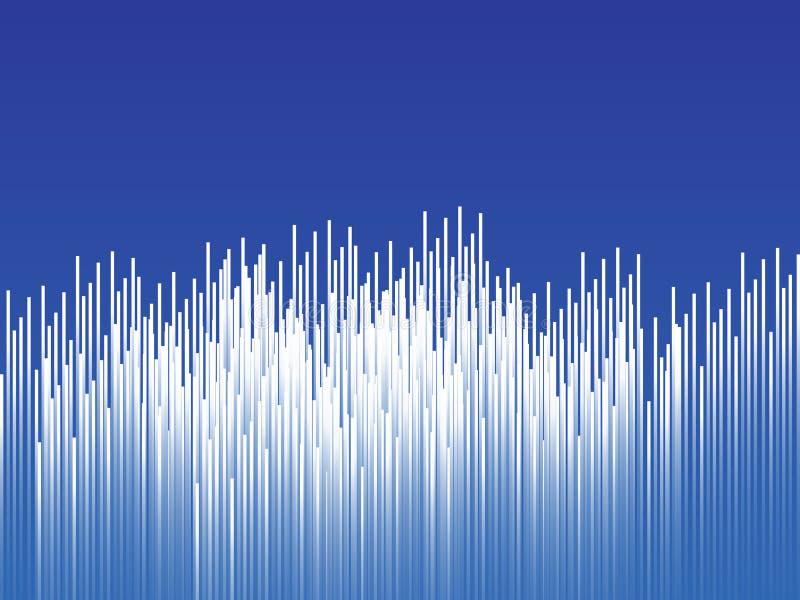Abstrakt teknologibakgrund, linjer som komponeras av glödande bakgrunder också vektor för coreldrawillustration royaltyfri illustrationer