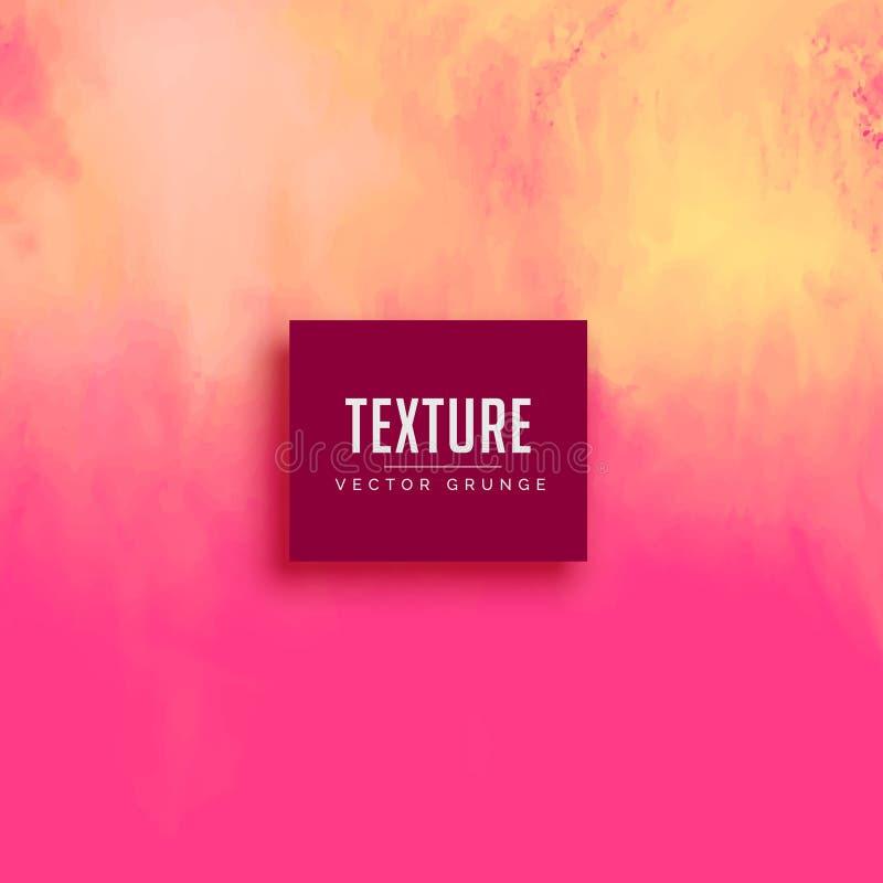 Abstrakt tekstury tła farby różowy skutek ilustracja wektor