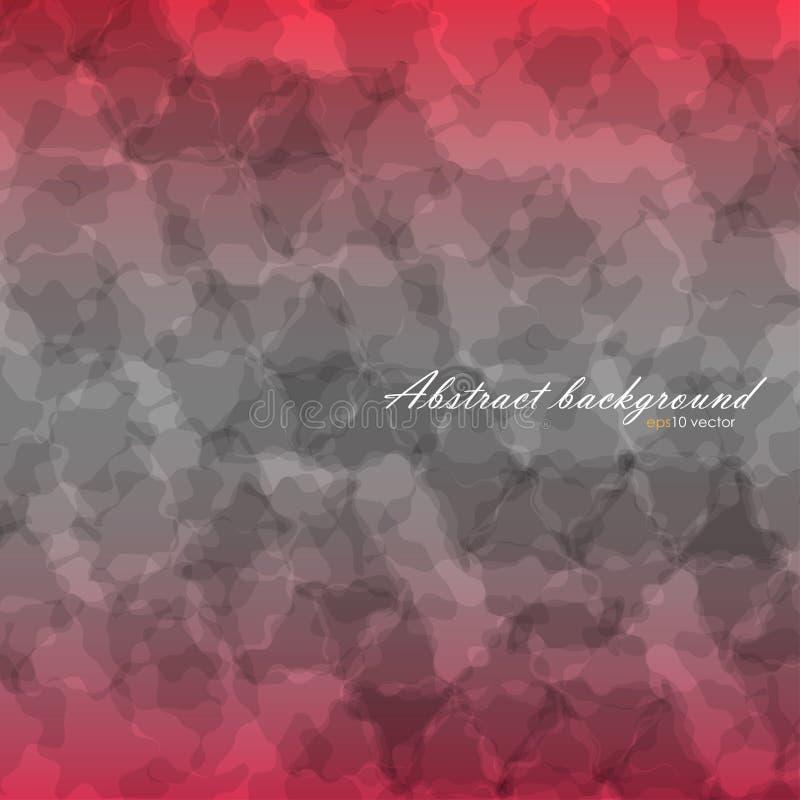 Abstrakt tekstury tła spływowe szarość i czerwony kolor royalty ilustracja