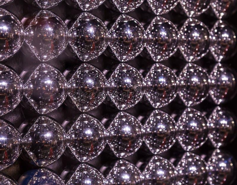 Download Abstrakt Textur Av Metallbollar Arkivfoto - Bild av spegel, runt: 78730080