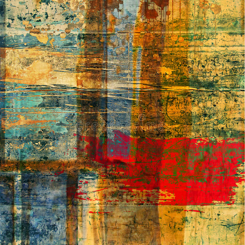 abstrakt textur för konstbakgrundsgrunge vektor illustrationer