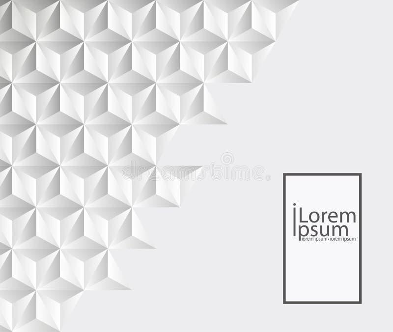 Abstrakt textur för White Det kan vara nödvändigt för kapacitet av designarbete royaltyfri illustrationer