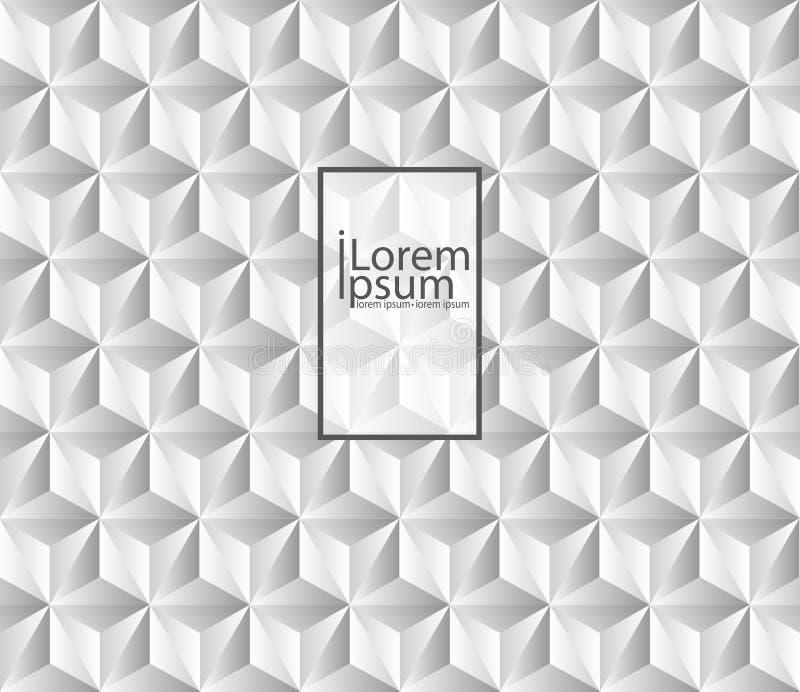 Abstrakt textur för White Det kan vara nödvändigt för kapacitet av designarbete stock illustrationer