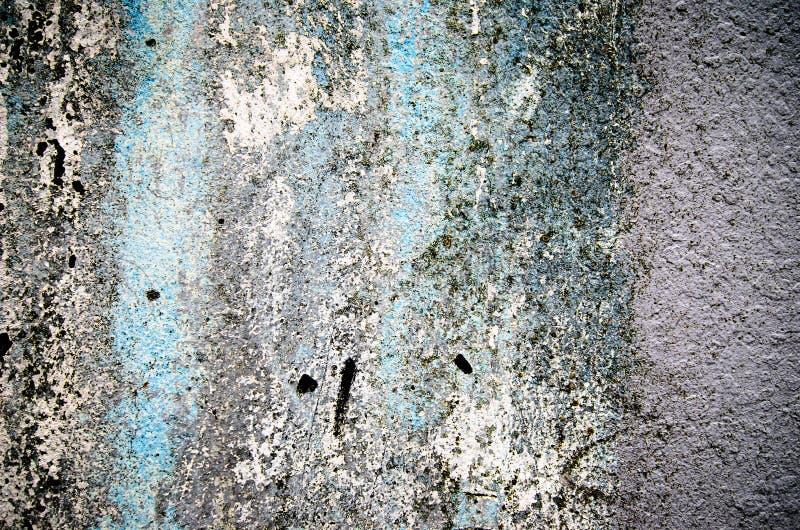 Abstrakt textur och bakgrund för vägg för för blått och vit cement fotografering för bildbyråer