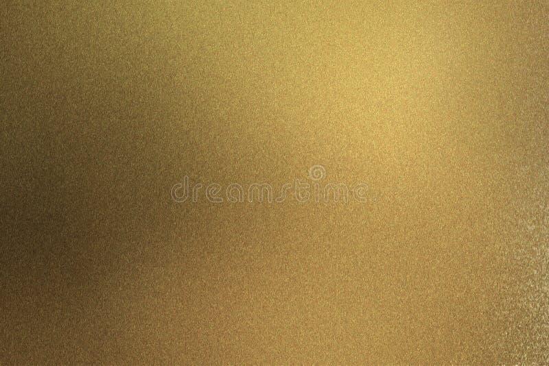 Abstrakt texturbakgrund, brun metallvägg för skrapor royaltyfri illustrationer