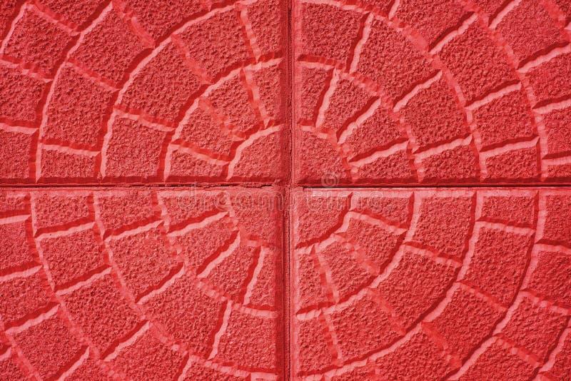 Abstrakt texturerad bakgrund: gammal modell för vägg för röd tegelsten arkivfoto