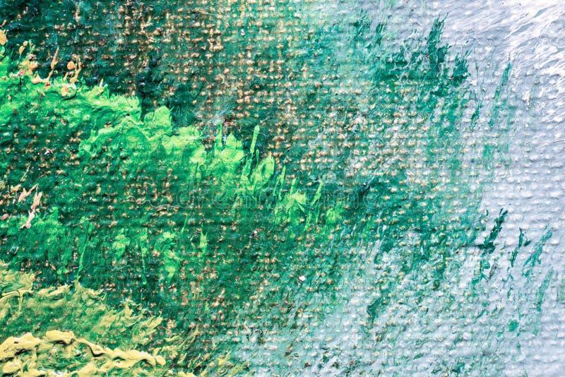 Abstrakt texturtapet för olje- målning royaltyfri illustrationer
