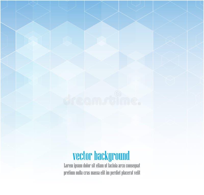 abstrakt tillgänglig bakgrund eps8 formaterar sexhörnig jpeg Vektormalldesign för vetenskaps- eller teknologipresentation vektor illustrationer