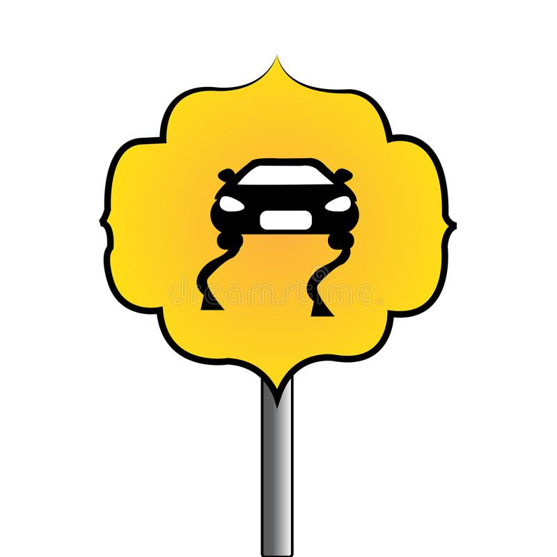 Download Abstrakt trafiksignal vektor illustrationer. Illustration av huvudväg - 106831709