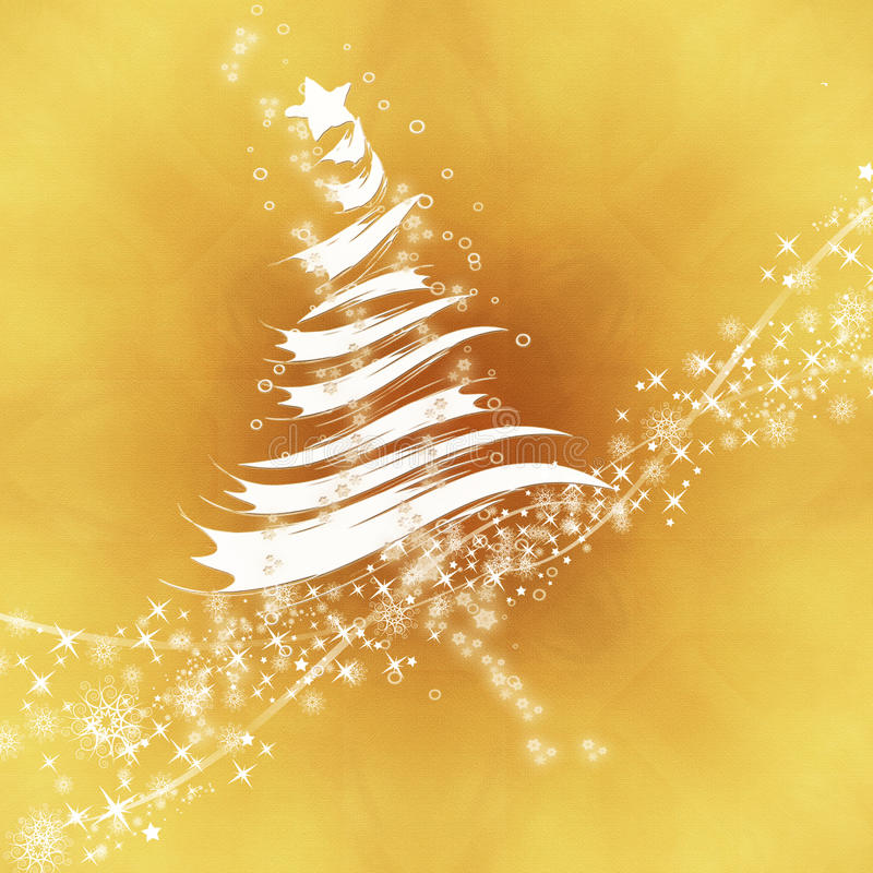 abstrakt treewhite royaltyfri illustrationer