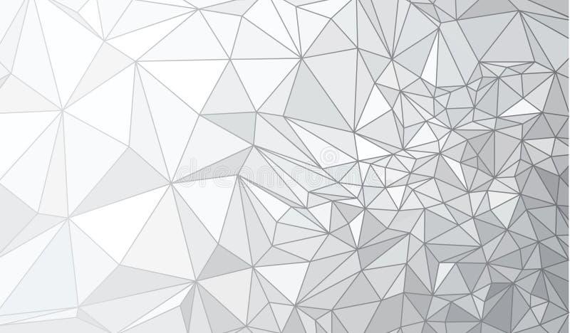 Abstrakt triangelbakgrund för vektor stock illustrationer