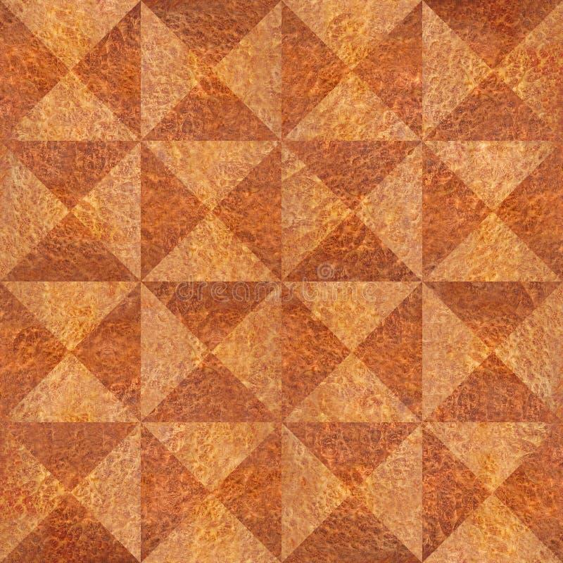 Abstrakt triangelmodell - sömlös bakgrund - Carpathian alm royaltyfri illustrationer