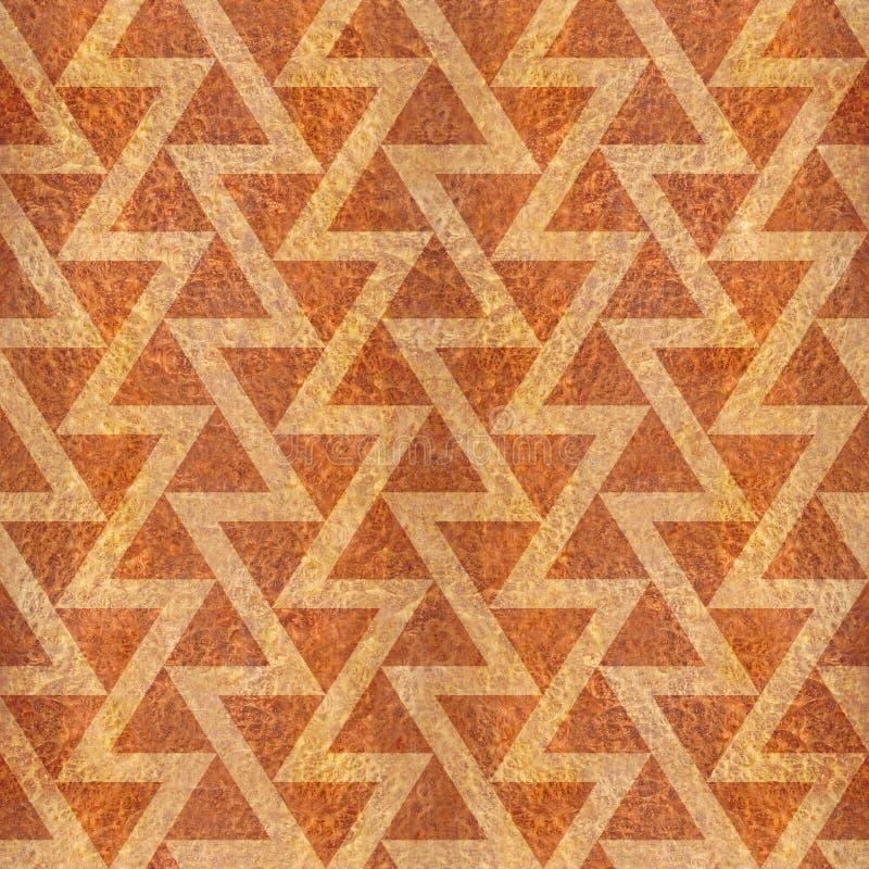 Abstrakt triangelmodell - sömlös bakgrund - Carpathian alm stock illustrationer