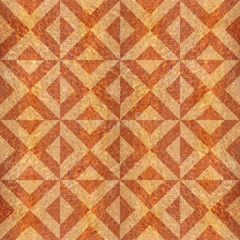 Abstrakt triangelmodell - sömlös bakgrund - Carpathian alm vektor illustrationer
