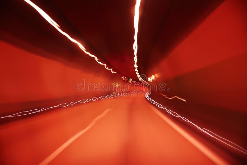 abstrakt tunnel arkivfoto