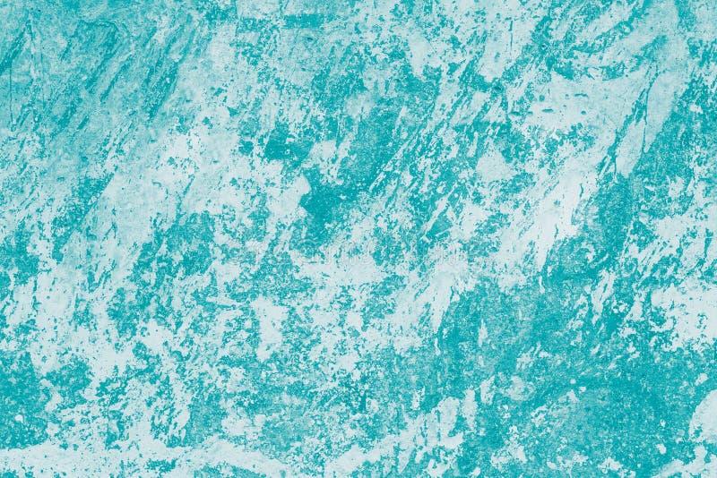 Abstrakt turkosmodell med marmorerad effekt Gr?n m?larf?rgv?ggbakgrund Konstprodukt, aquarelle, akrylmålning i modern st royaltyfria foton