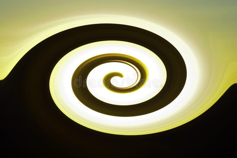 abstrakt twirl vektor illustrationer