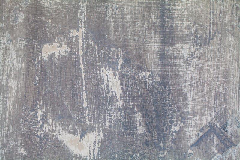 Abstrakt vägg för bakgrund för grungemurbrukcement Retro skrapat texturbaner arkivbild